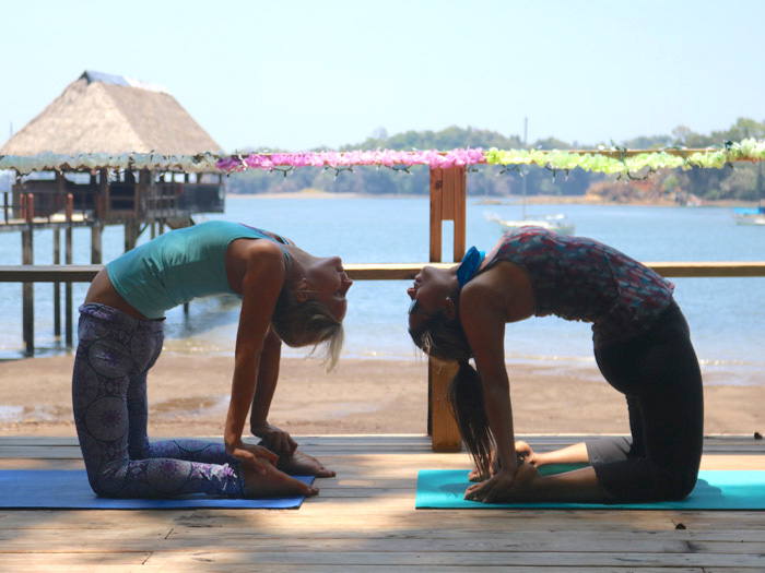Private yoga and meditation session with Maija Pure You Wellness